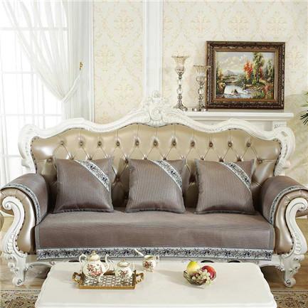 柔丝沙发垫-咖色