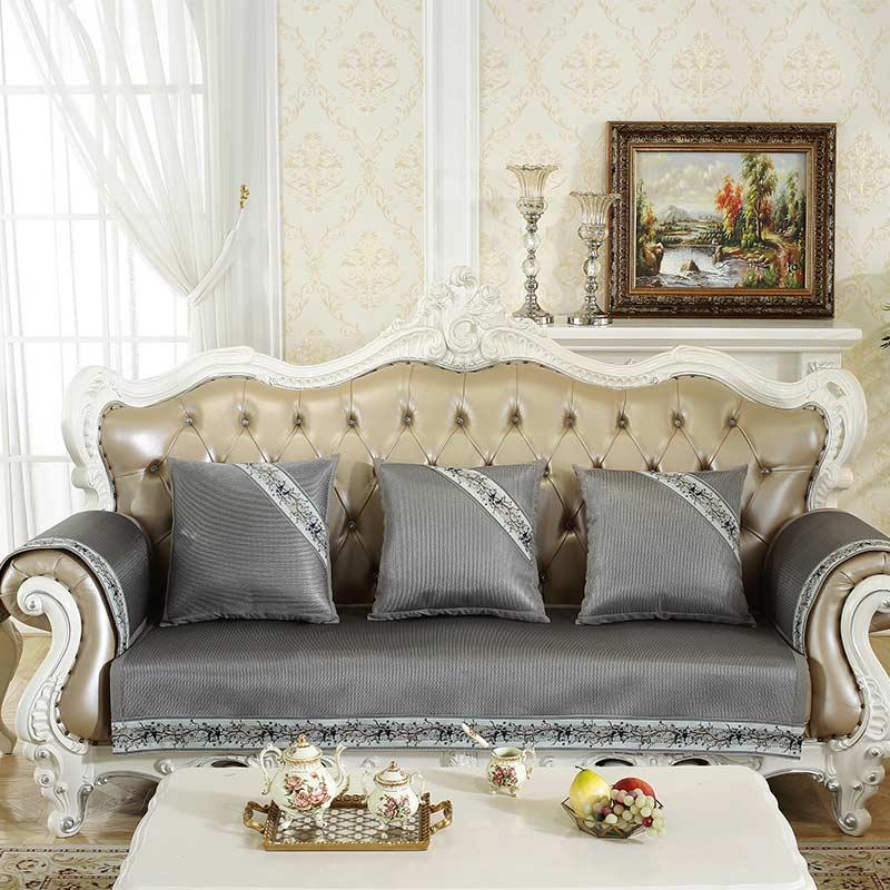 柔丝沙发垫-灰色